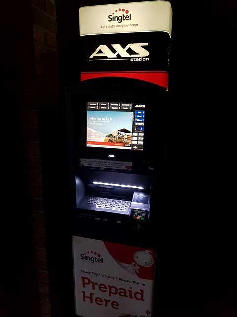 自販機で支払うシンガポールの税金や水光熱費
