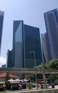 シンガポールの街並み