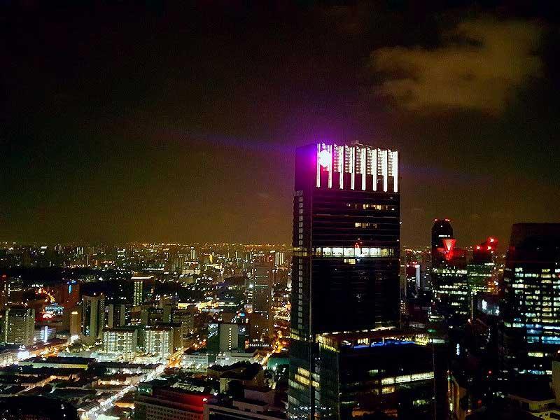 シンガポールの夜景(シンガポール賃貸のMikanのシンガポール日記)