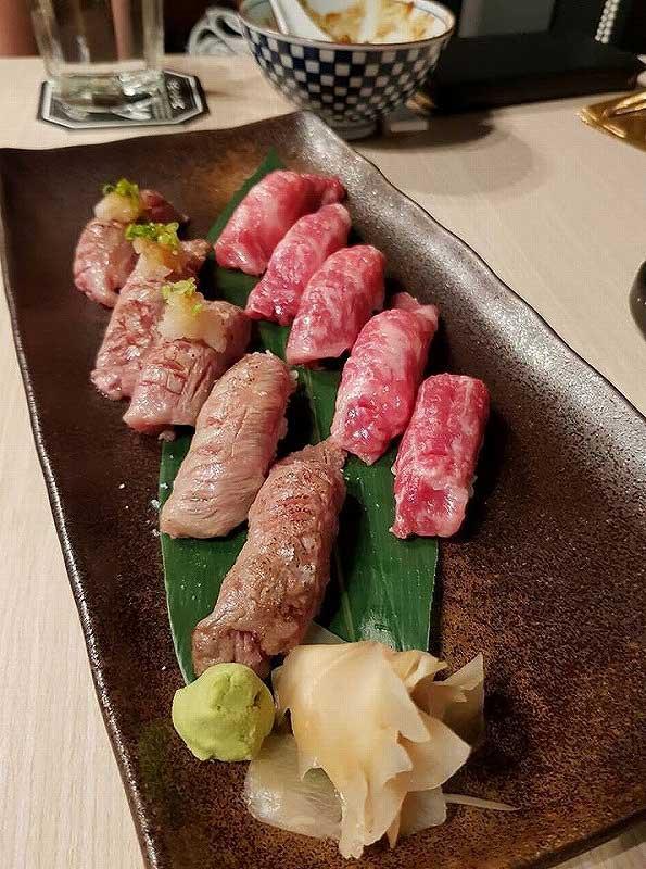 牛刺しのお寿司は絶品(シンガポール賃貸のMikanのシンガポール日記)